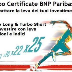 STRATEGIA TURBO CERTIFICATE – INTESA SANPAOLO