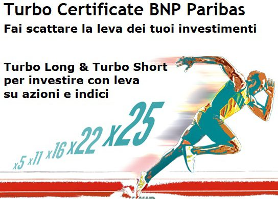 STRATEGIA TURBO CERTIFICATE – MEDIASET