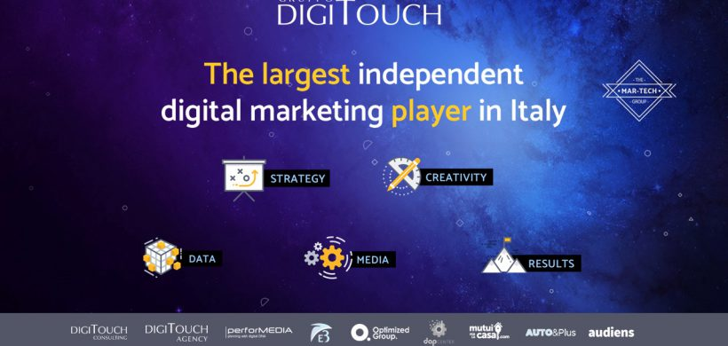 DIGITOUCH – Accordo con Sizmek, big del predictive marketing